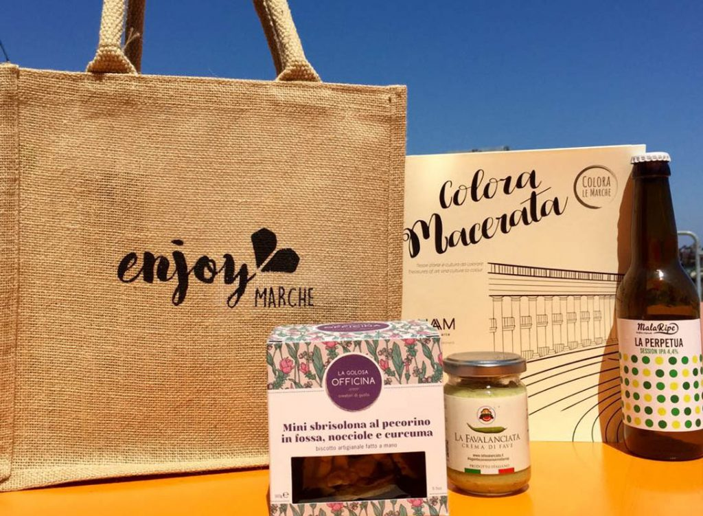 food bag enjoy marche borgofuturo