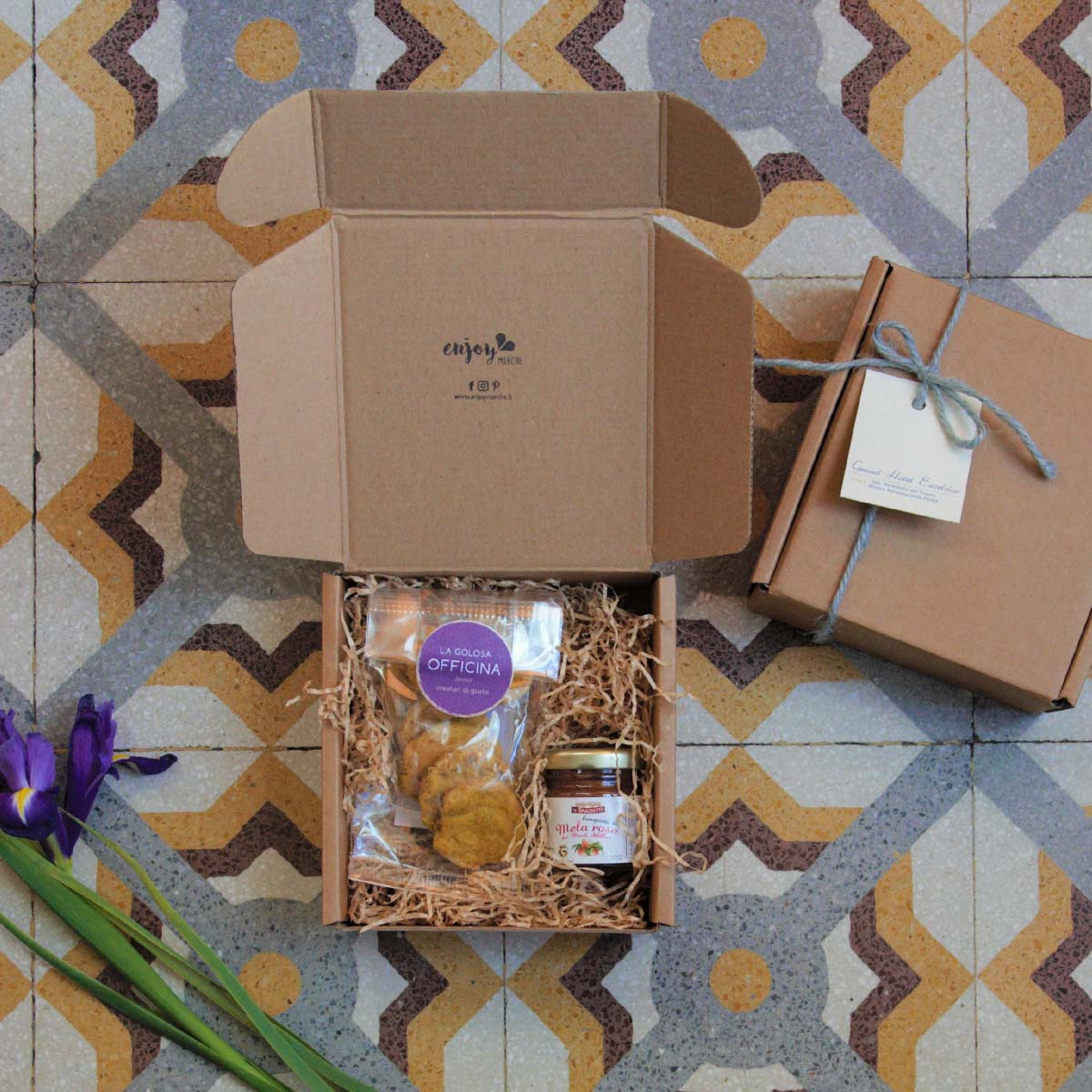 Hospitality welcome gifts Enjoy Marche