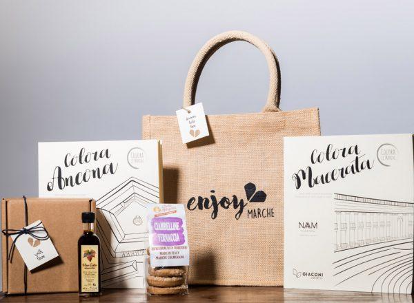 bag letteraria dolce juta enjoy marche idea regalo natale