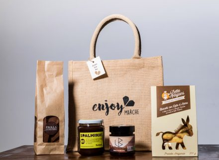 food bag juta colazione enjoy marche idea regalo natale