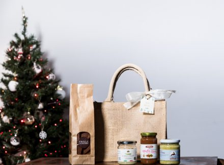 mini food bag juta solidale enjoy marche idea regalo natale